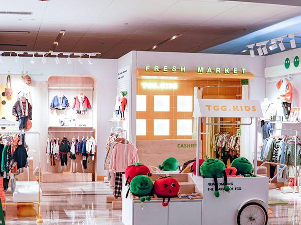 田果果童装店铺展示