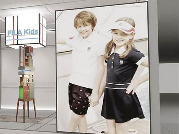 斐乐童装店铺展示