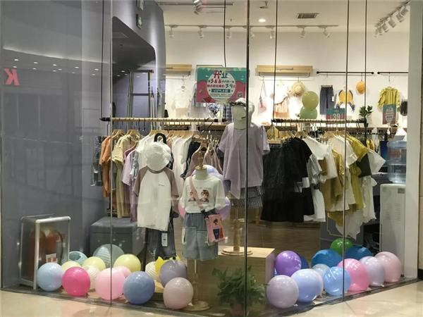苏格马可童装店铺展示