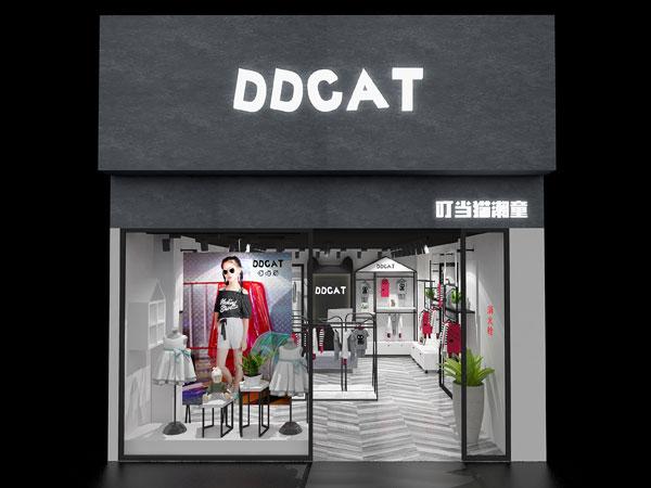 叮当猫潮童童装店铺展示