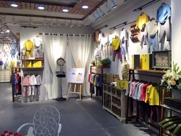 木可木可童装店铺展示