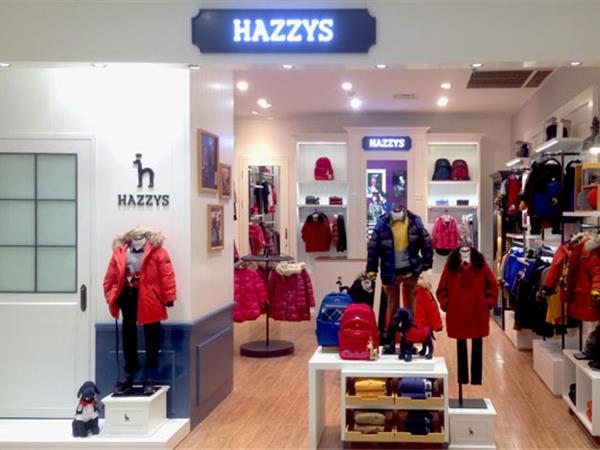 哈吉斯童装店铺展示