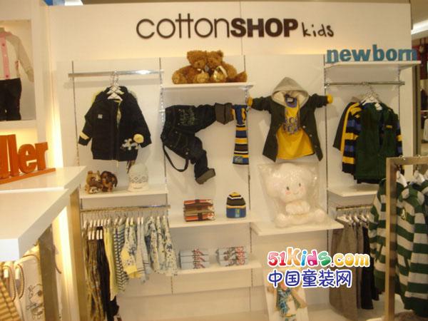 棉店童装店铺展示