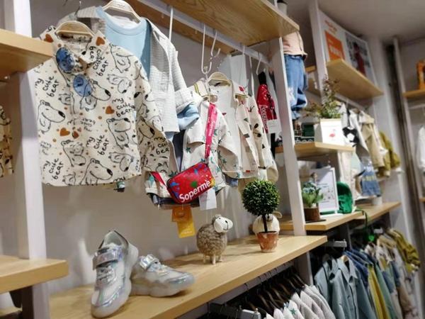 米拉米诺童装店铺展示